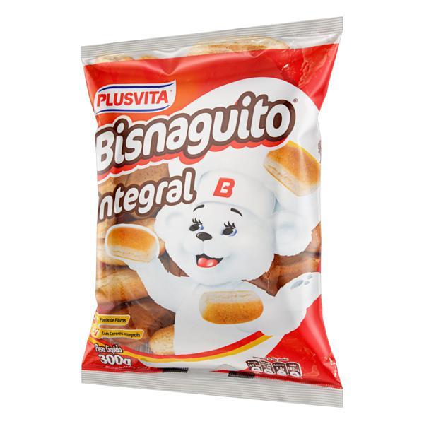Pão Bisnaguinha Integral Plusvita Bisnaguito Pacote 300g