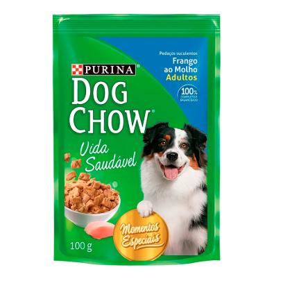 Alim Purina Dog Chow 100G Frango