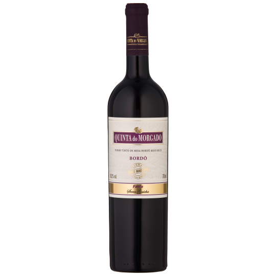 Vinho Quinta Do Morgado Bordô Meio Seco 750Ml