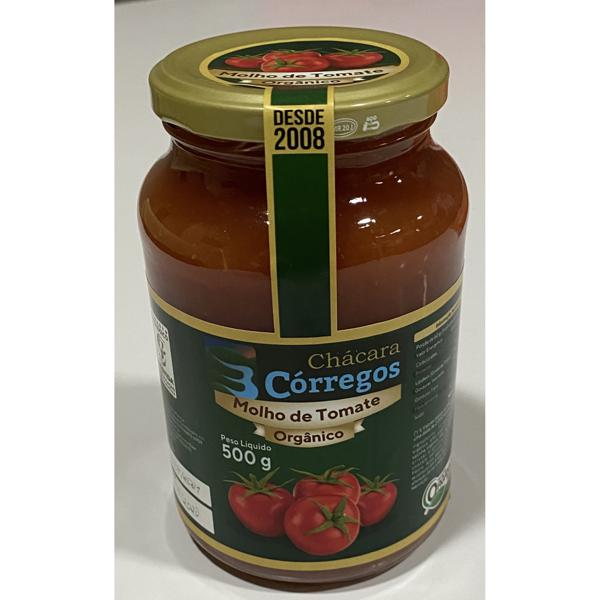 Molho de Tomate Orgânico (500ml)