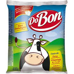 Composto Lácteo Pacote DOBON 400g