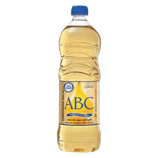 Óleo de Soja Tipo 1 ABC Garrafa 900ml