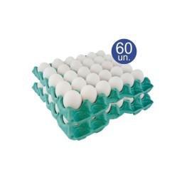 Ovos Granja Alexaves 60X1 Branco Medio