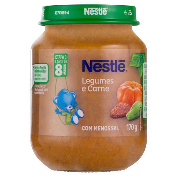 Sopinha Legumes e Carne Nestlé Vidro 170g