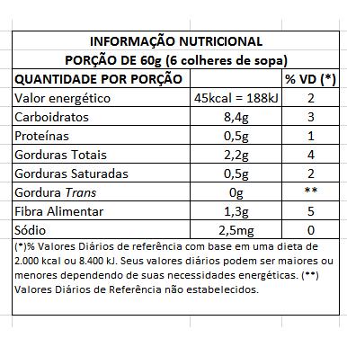 Creme Açaí Zero com Granola Bravo Açaí 150g