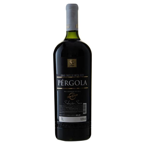 Vinho Brasileiro Tinto Seco Seleção Pérgola Serra Gaúcha Garrafa 1l