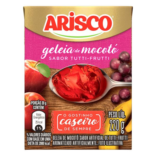 Geleia de Mocotó Tutti Frutti Arisco Caixa 220g