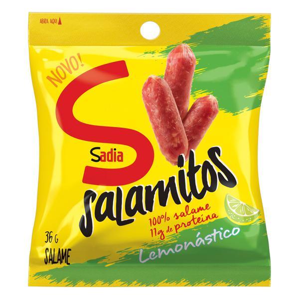 Salame Lemonástico Sadia Salamitos 36g