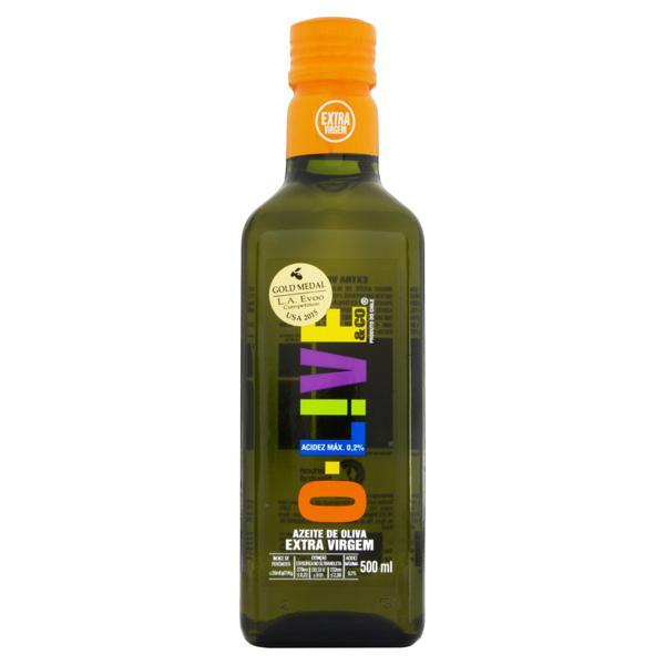 Azeite de Oliva Extravirgem Chileno O-Live & Co Vidro 500ml