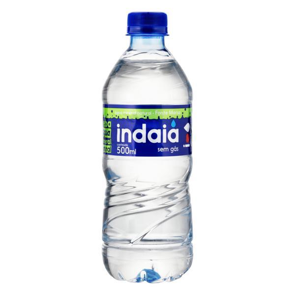 Água Mineral Natural sem Gás Indaiá Garrafa 500ml