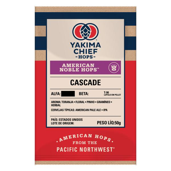 Lúpulo Cascade American Noble Hops™ em pellet - 50g