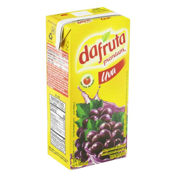 Néctar Misto Uva Dafruta Premium Caixa 200ml
