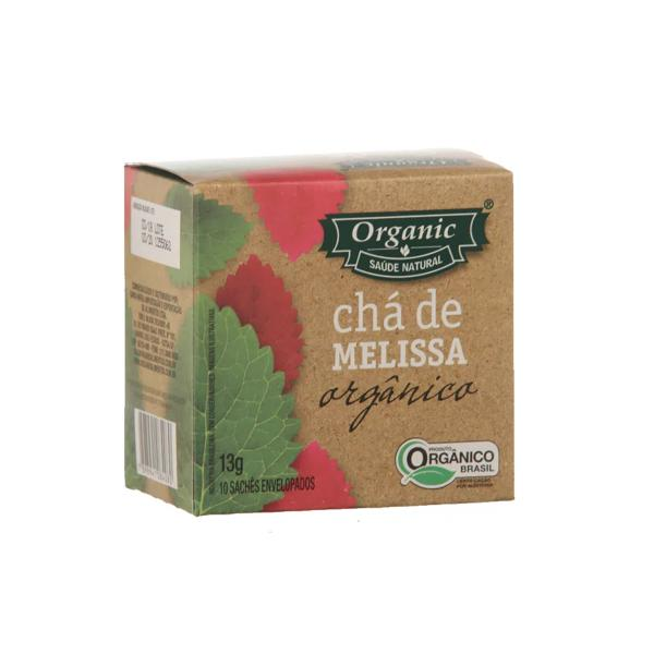 Chá Melissa Orgânico ORGANIC 13g