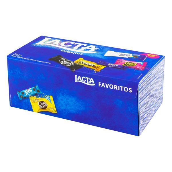 Bombom Sortido Lacta Favoritos Caixa 250,6g