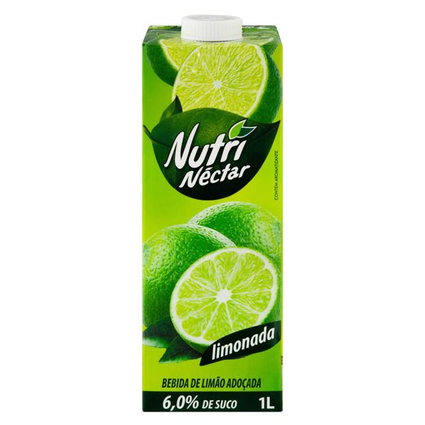 Bebida Adoçada Limonada Nutrinéctar Caixa 1l