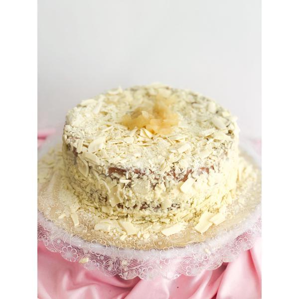 Torta de Abacaxi com Branquinho
