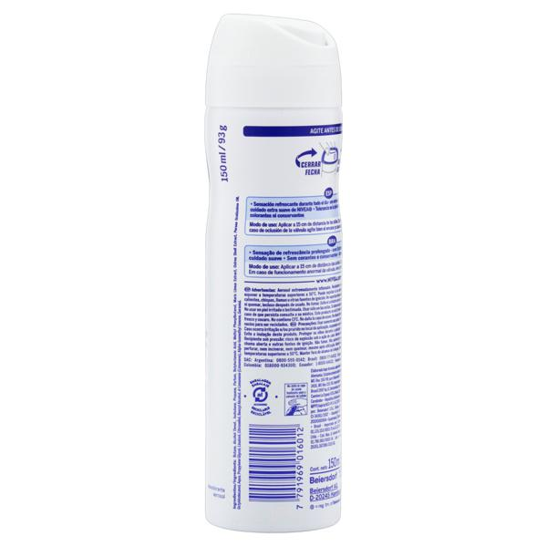 Desodorante Aerossol Nivea Fresh Natural 150ml