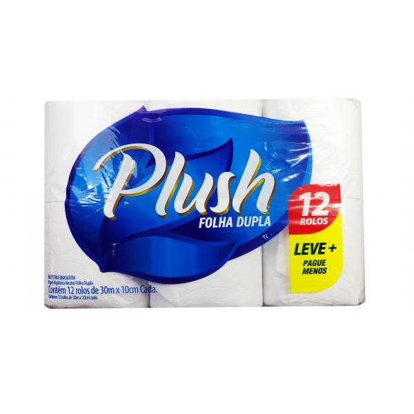 Plush Papel Higienico Folha dupla  Lv12 Pg11