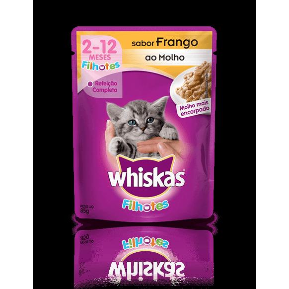 Whiskas Filhotes 85G Frango