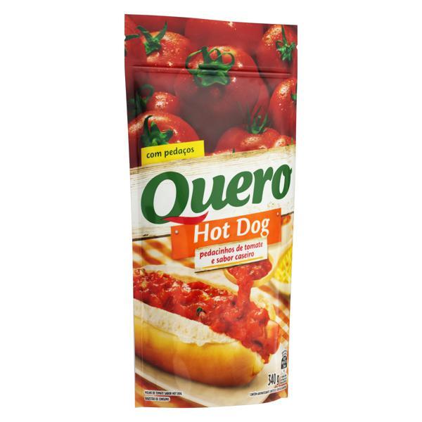 Molho de Tomate Hot-Dog Quero Sachê 340g