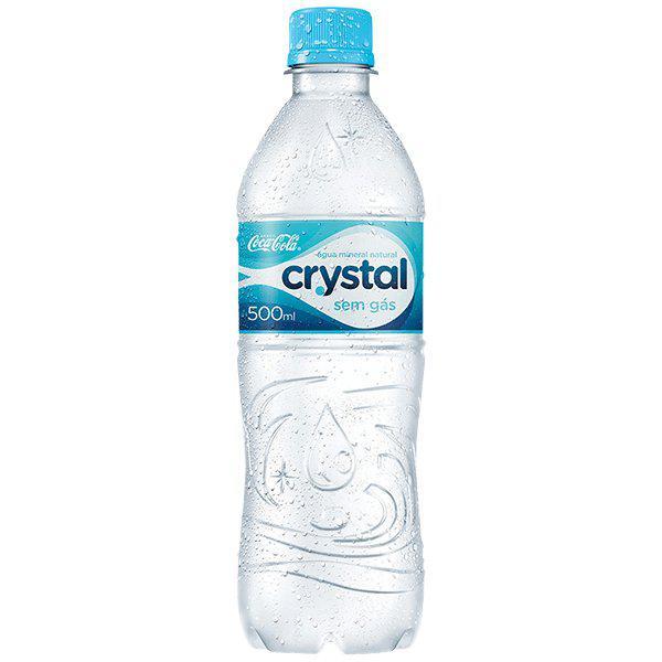 Água Mineral CRYSTAL Sem Gás 500ml