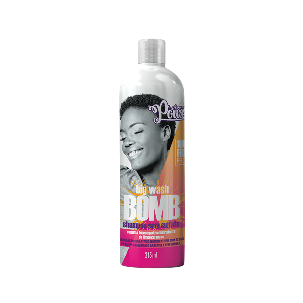 Shampoo 315ml Soul Power Big Wash Bomb