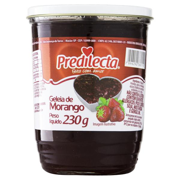 Geleia Morango Predilecta Vidro 230g