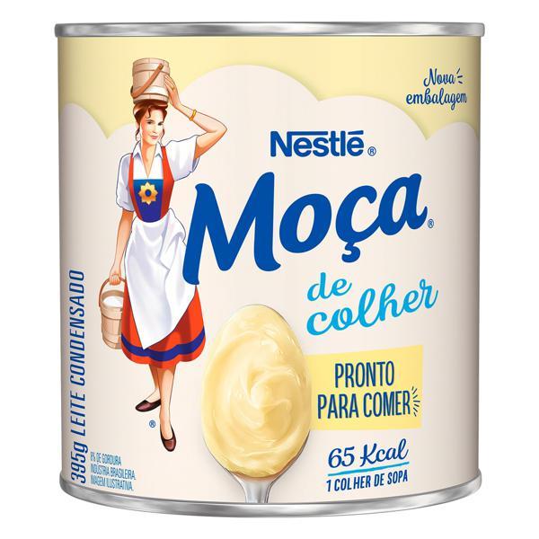 Leite Condensado Nestlé Moça de Colher Lata 395g