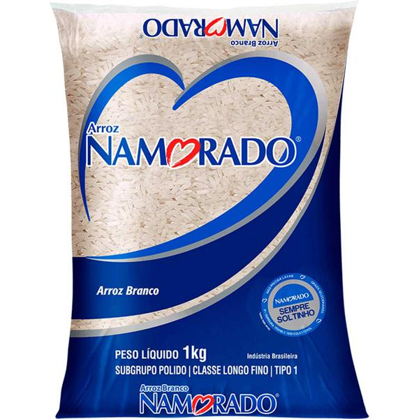 Arroz Namorado Branco Tp1 1Kg Nacional