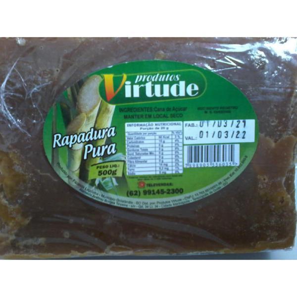 Rapadura VIRTUDE Pura 500g