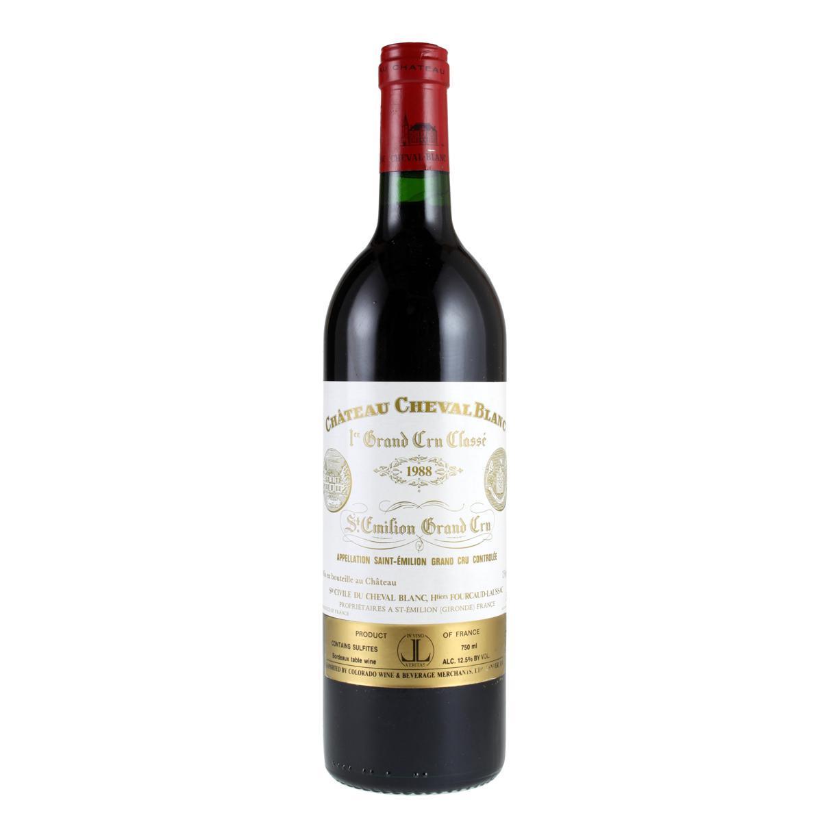 Chateau Cheval Blanc 1988 tinto 750ml