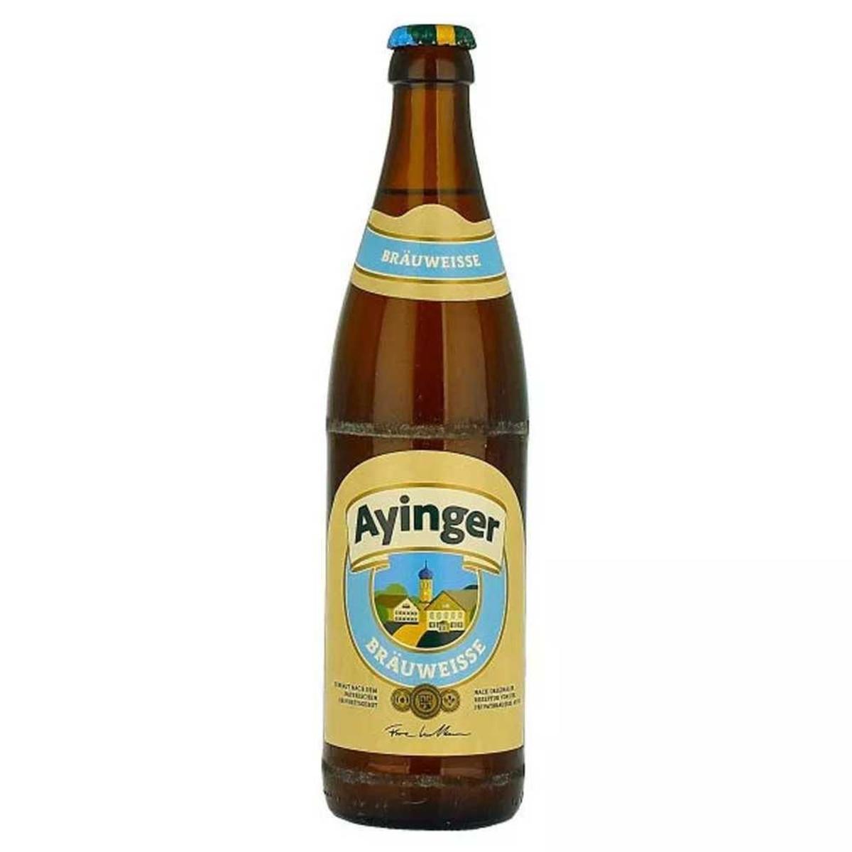 Cerveja Alemã Ayinger Brau Weisse 500ml
