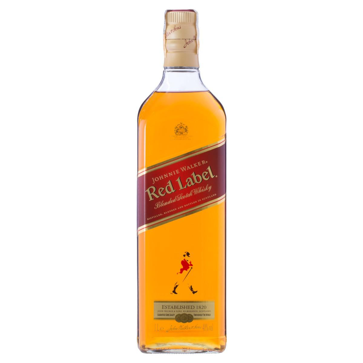 Whisky Johnnie Walker Red Label Litro
