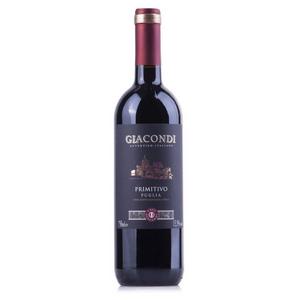 Vinho Primitivo Puglia Giacondi 750ml