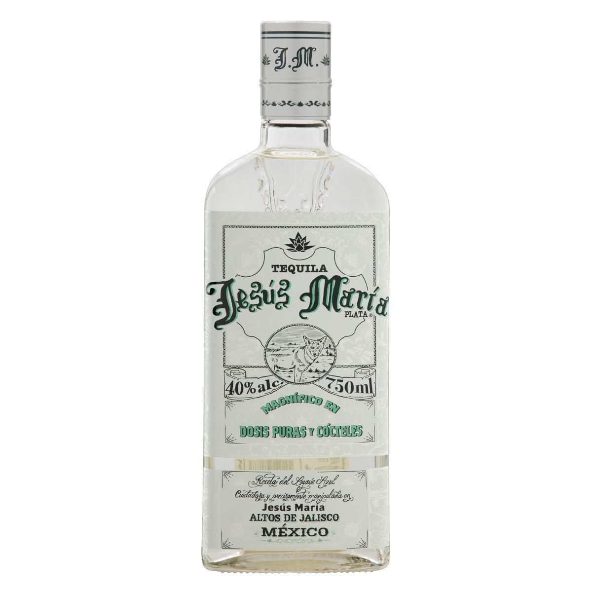 Tequila Jesús María Blanco 750ml