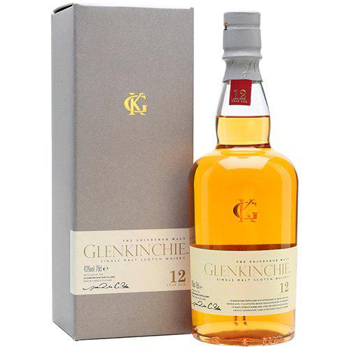 Whisky Glenkinchie Single Malt 12 anos 750ml