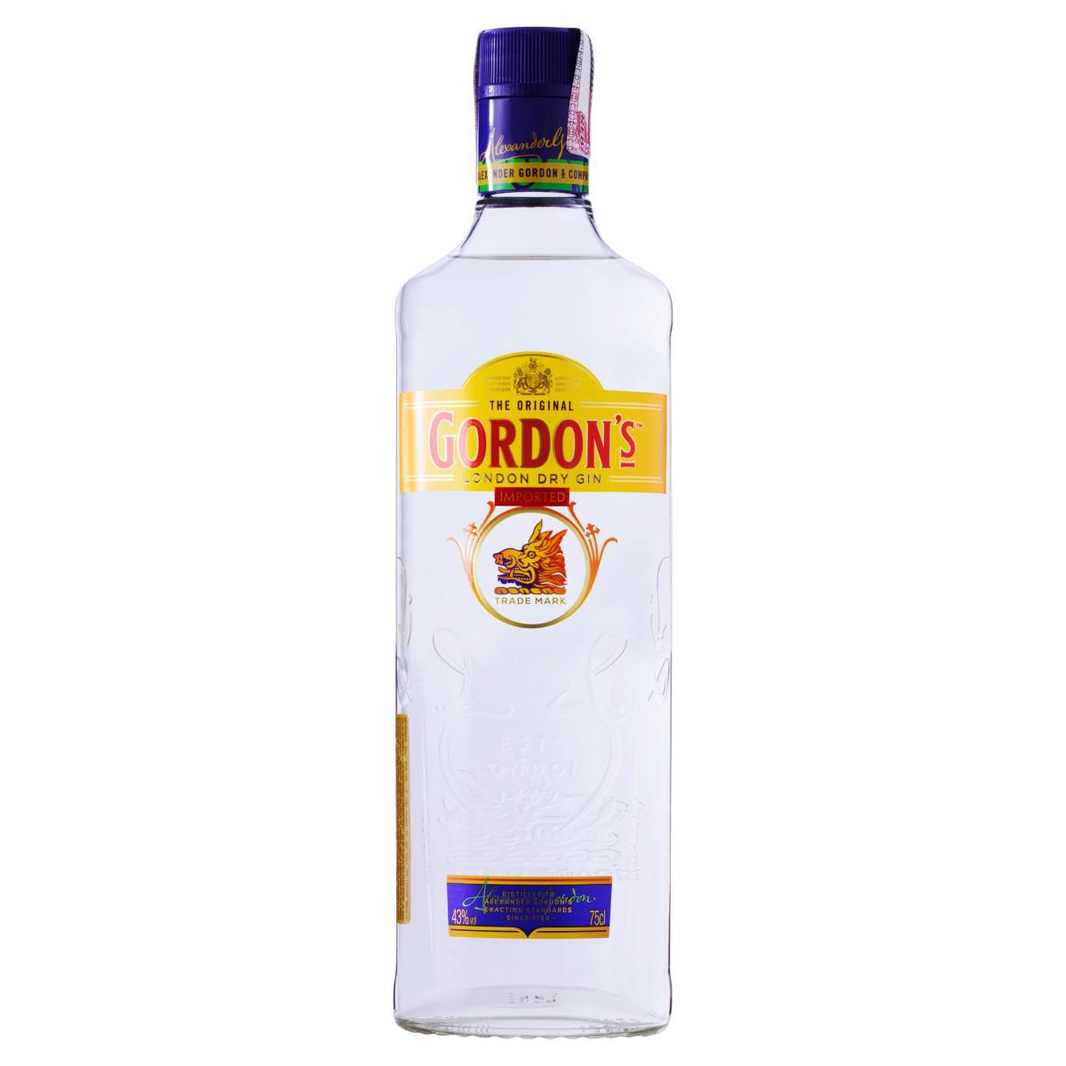 Gin London Dry Gordon's Garrafa 750ml