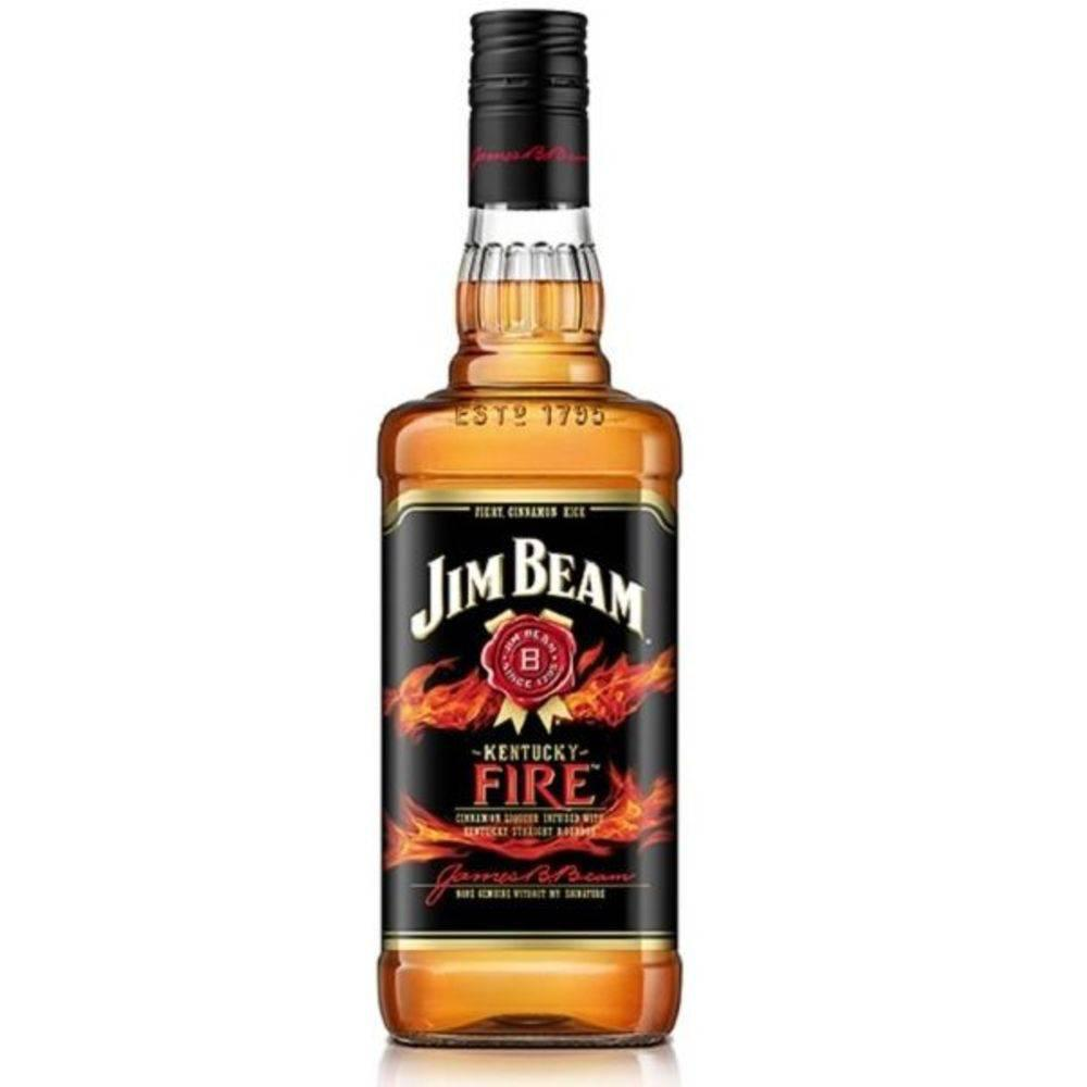 Whisky Jim Beam Fire Litro