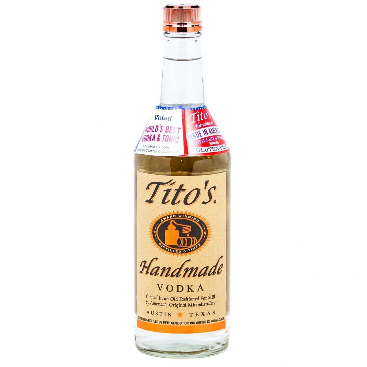 Vodka Tito´s Handmade 750ml