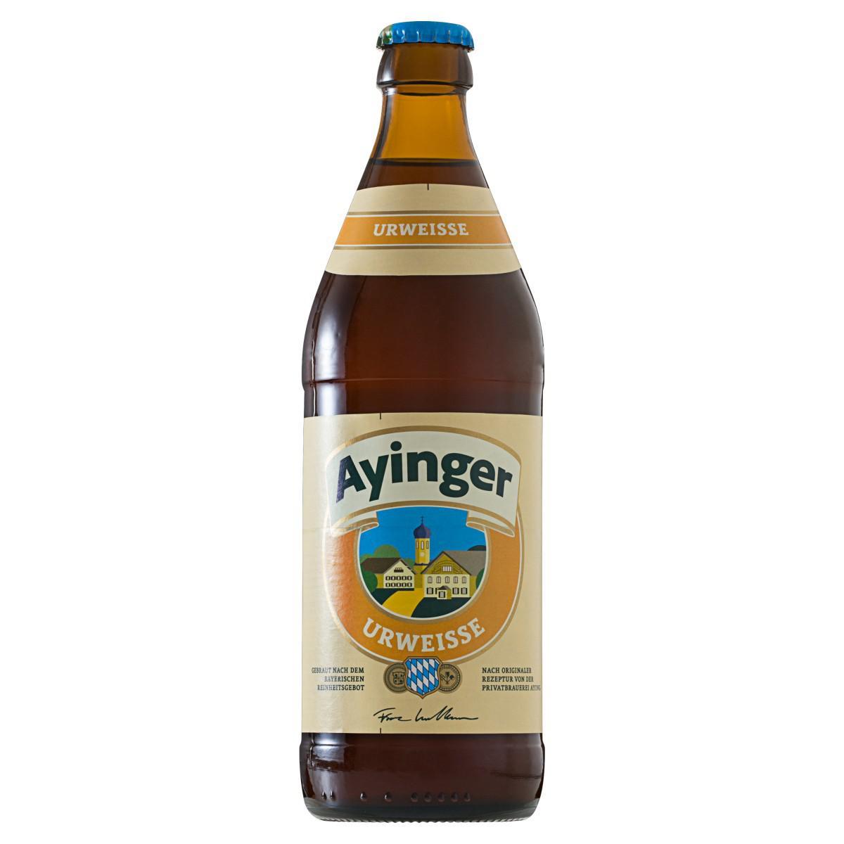 Cerveja Urweisse Ayinger Garrafa 500ml