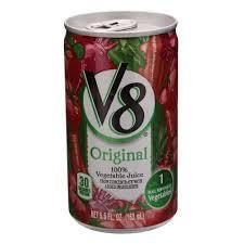 Suco de Vegetais V8 Original 163ml