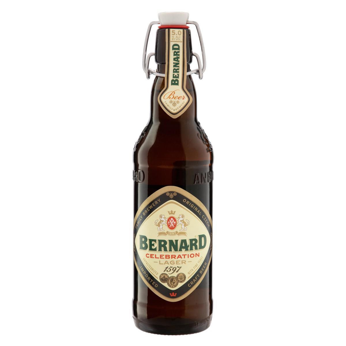 Cerveja Lager Celebration Bernard 500ml