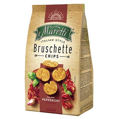 Bruschetta Maretti sabor Salami Pepperoni 85g