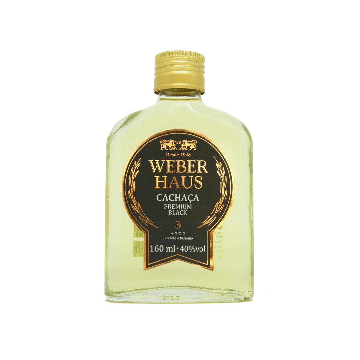 Cachaça Premium Black Weber Haus 160ml