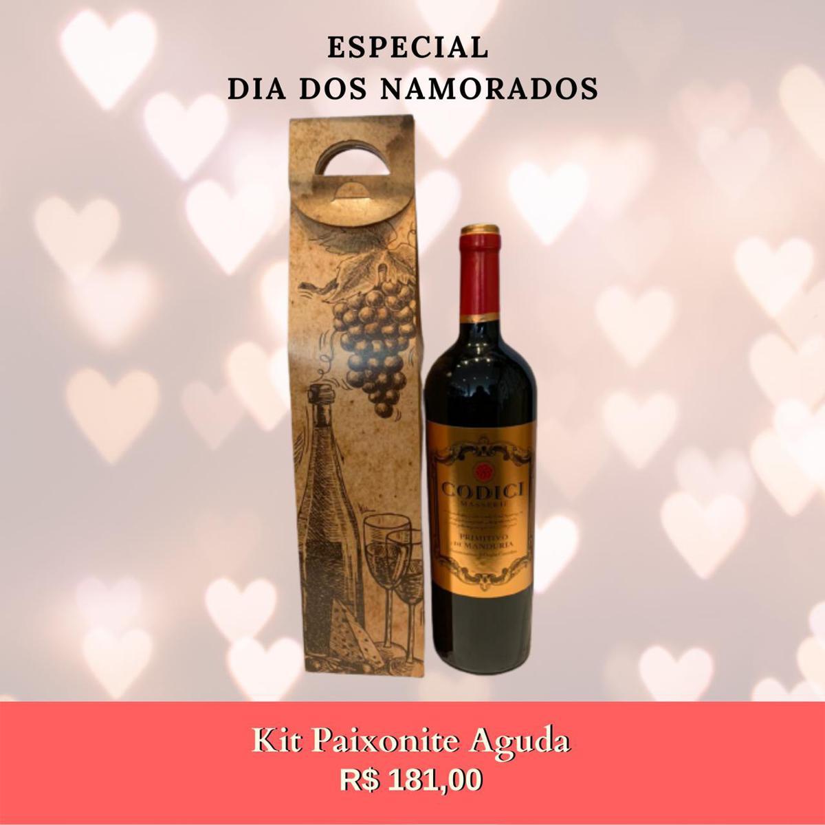 Kit Dia dos Namorados - Paixonite Aguda