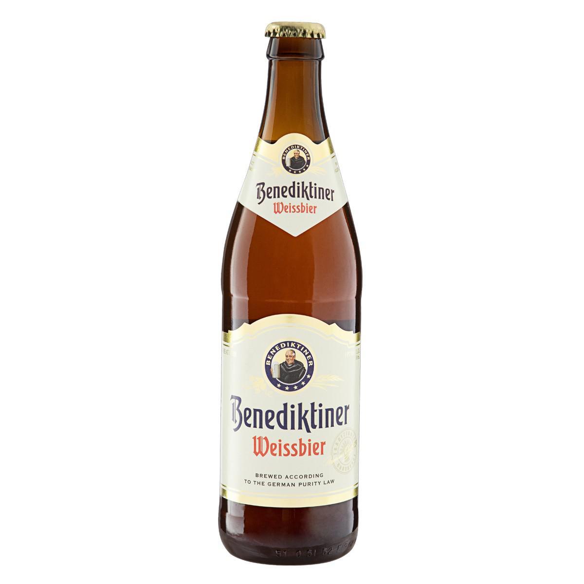 Cerveja Weissbier Benediktiner 500ml