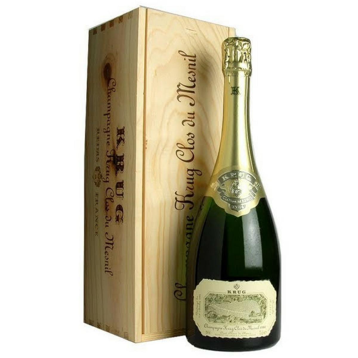 Champagne Krug Clos Du Mesnil safra 1988