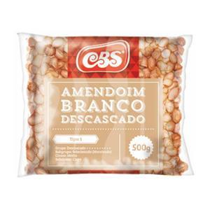 Amendoim Cbs 500G Desc Branco