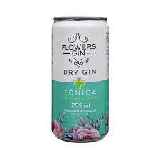 Gin Tonica Flowers Limao Lt 269Ml
