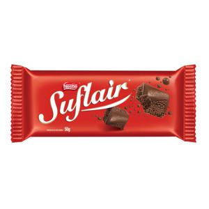 Barra de Chocolate ao Leite SUFLAIR Aerado 50g